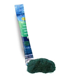 BrainON active Blue Green algae extract, 1g Dry Stick, E3Live