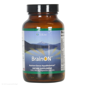 BrainON active Blue Green algae extract (400mg), 120 Capsules, E3live