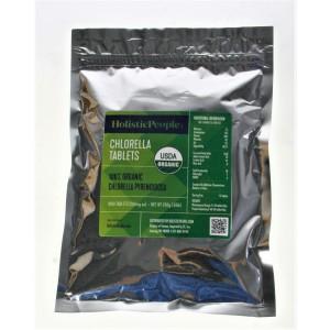 Chlorella (250mg), Certified Organic, 1000 Tablets, 250g