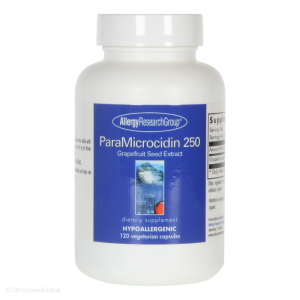 ParaMicrocidin | Grapefruit Seed Extract GSE (250mg), 120 Capsules