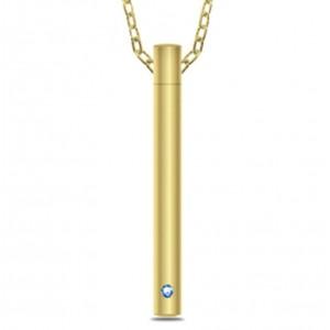 Tachyonized Vertical Pendant Mini-V Light Gold