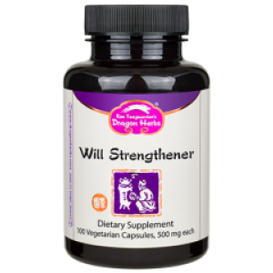 Will Strengthener, 100 Capsules, Dragon Herbs